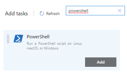 PowerShell extension for Azure DevOps pipelines