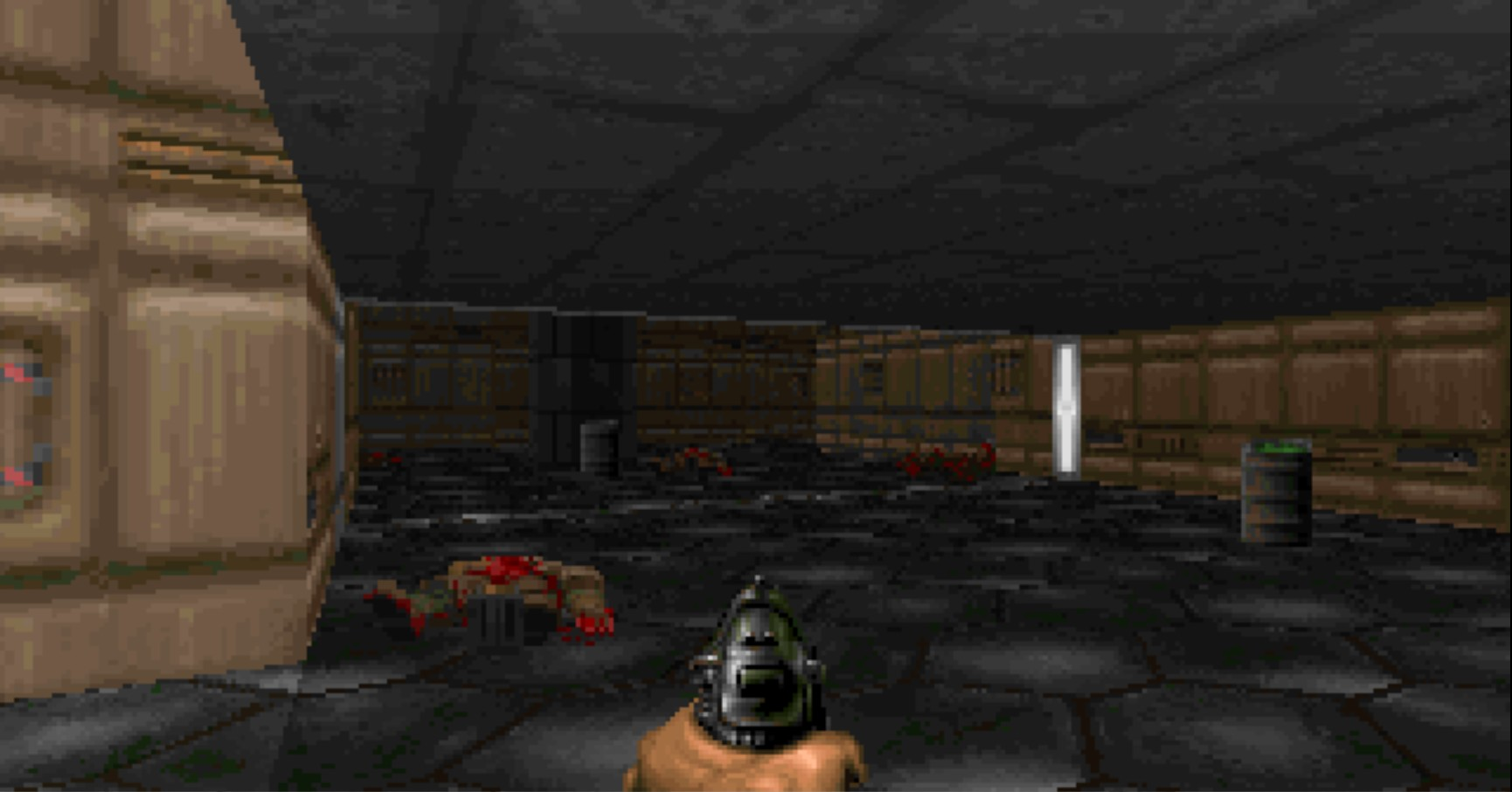 The Ultimate Doom screenshot